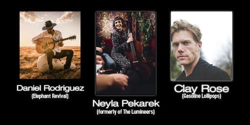 Daniel Rodriguez. Neyla Pekarek. Clay Rose.