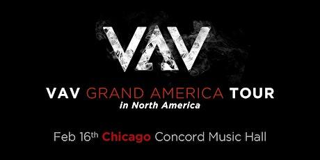VAV - Grand America Tour tickets