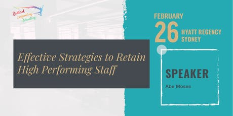 Effective Strategies to Retain High Performing Staff tickets