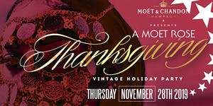A Moet ThanksGiving Party at Domain Houston 11.28.19