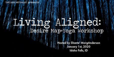 Living Aligned: Desire Map+Yoga Workshop tickets