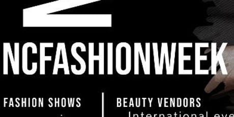 NCfashionweek2019 tickets