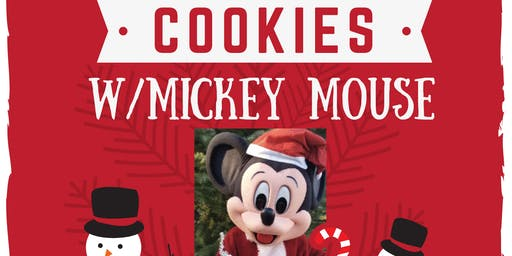 Cookie Decorating with Mickey Mouse!