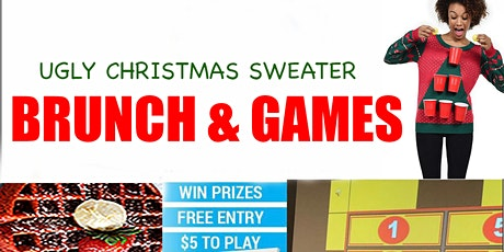 Ugly Sweater Brunch & Games tickets