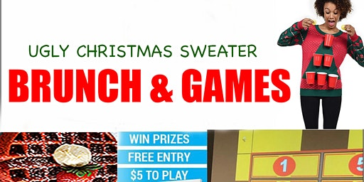 Ugly Sweater Brunch & Games