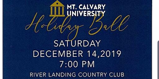 MT. CALVARY UNIVERSITY'S HOLIDAY BALL