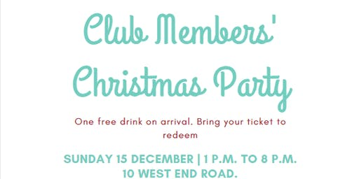 Herne Bay Ponsonby Rackets Club Members' Christmas Party
