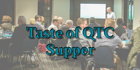Taste of QTC Supper ~ September tickets