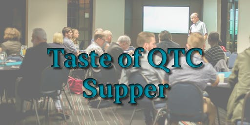 Taste of QTC Supper ~ May