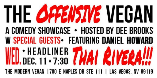 The Offensive Vegan - A Comedy Showcase