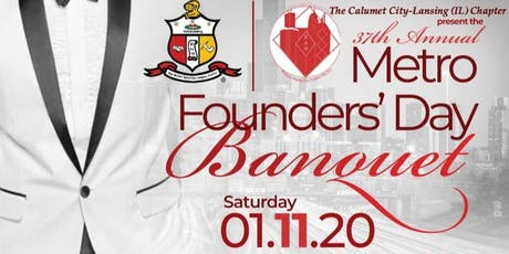 The 37th Annual Metro Founders Day tickets