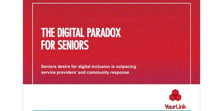 Digital Paradox for Seniors launch tickets
