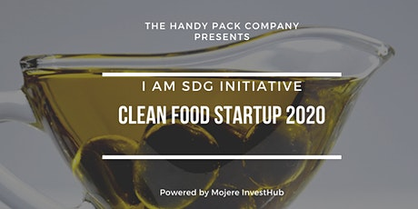 CLEAN FOOD START UP 2020   (I AM SDG INITIATIVE) tickets