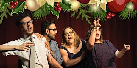 All Out Comedy Main Stage Improv-Holiday Edition tickets