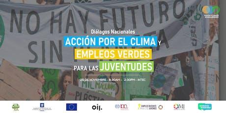 Acción por el Clima y Empleos Verdes para Juventud entradas