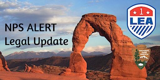 APR 10  Shepardstown, West Virginia - NPS ALERT Legal Update and Refresher