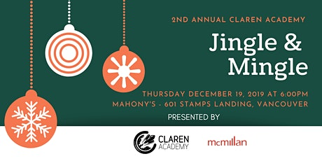 2019 Claren Academy Jingle & Mingle tickets