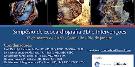 Simpósio de Ecocardiografia 3D e Intervenções ingressos