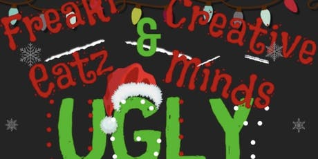 FreaKi Eatz & Creative Minds ugly sweater party/ game night tickets