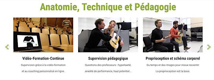 Image pour Vidéo-conférence -Le corps du musicien -Technique - Performance - Pédagogie