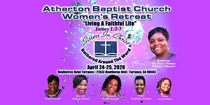 Atherton Baptist Church 2020 Women's Retreat