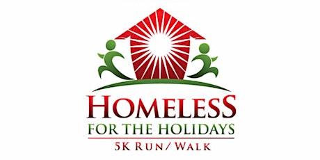 Homeless for the Holidays 5K Run/Walk tickets