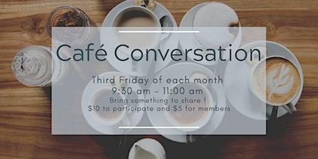 Café'Conversation : Parlons français! billets