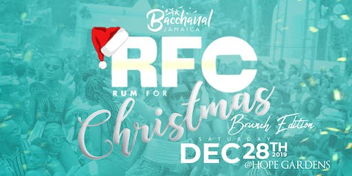 Bacchanal Jamaica Rum For Christmas (RFC)