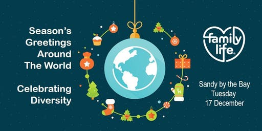 Season's Greetings Around the World - Celebrating Diversity