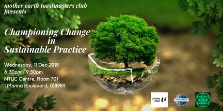 Championing Change in Sustainable Practice tickets