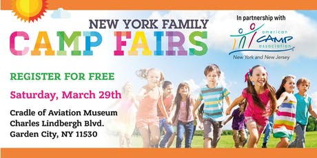 New York Family Camp Fair - Garden City tickets