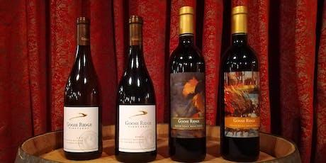 Winemaker Dinner: Goose Ridge tickets