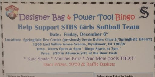 Bingo Fundraiser For STHS Softball