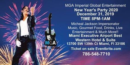 New Year's 2020 Live Entertainment Miami Party