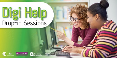 Digi Help Drop in Sessions- Hervey Bay Library tickets