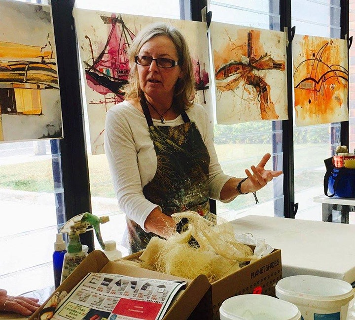 Printmaking without a Press with Maryika Welter (1 Day) image