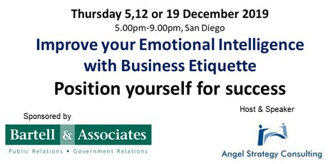 Improving Emotional Intelligence with Business Etiquette tickets