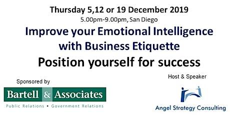 Improving Emotional Intelligence with Business Etiquette billets