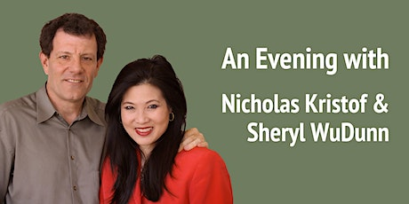 An Evening with Nicholas Kristof and Sheryl WuDunn tickets