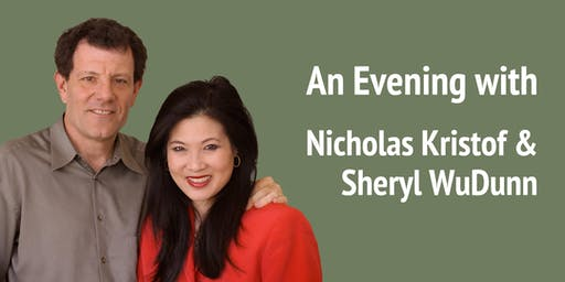 An Evening with Nicholas Kristof and Sheryl WuDunn