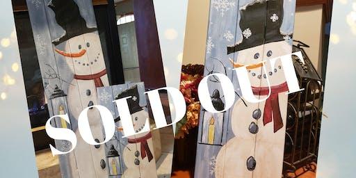 SOLD OUT - Snowman Pallet