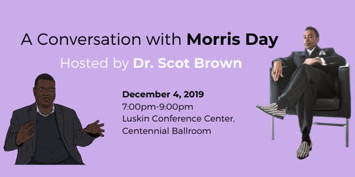 A Conversation with Morris Day, Hosted by Dr. Scot Brown