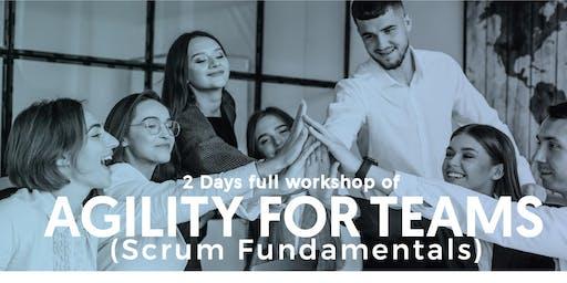 The Agility for Teams (Scrum Fundamental) Workshop