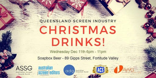 Christmas Drinks - QLD Screen Industry 2019