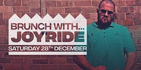 Brunch with...Joyride tickets