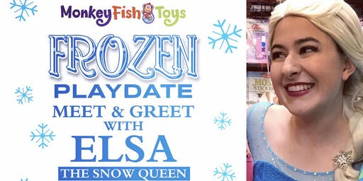 Frozen 2 Play Date - Monkey Fish Toys (Chester Springs)