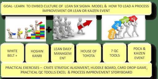 PMI LAKESHORE PRESENTS LEAN SIX SIGMA (LEGO) YELLOW BELT CERTIFICATION, 2 DAYS,DECEMBER 7 & 14, 2019