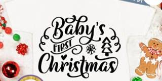 DIY Baby's 1st Christmas with Cricut