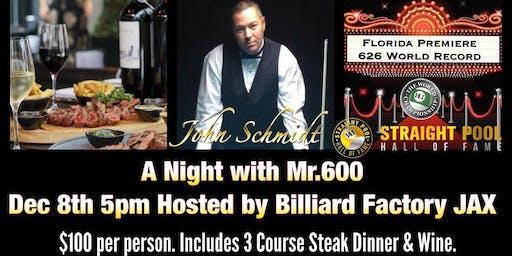Dinner and 626: An Evening with John Schmidt