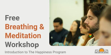 Secrets to Meditation in Vaughan - Introduction to The Happiness Program tickets